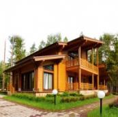 Достоинства домов, построенных из бруса