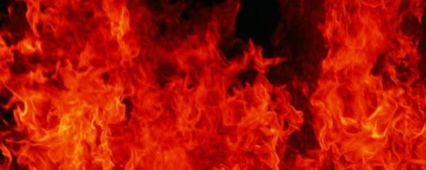 В результате пожара в Челнах пострадала женщина-вахтер