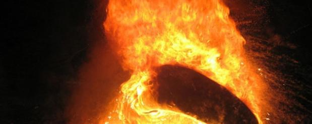 В Автограде неизвестные подожгли салон игровых автоматов