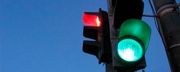 За долги в Набережных Челнах отключили светофор