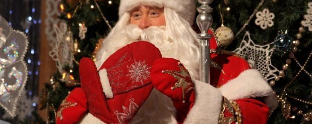 Дед Мороз из Великого Устюга устроил в Челнах праздник