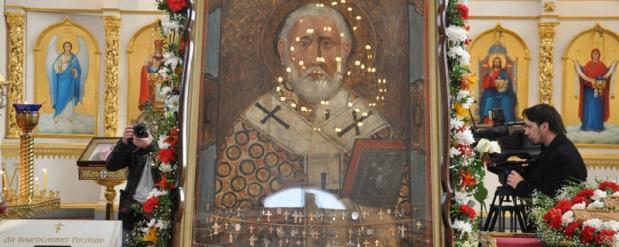 На четыре дня для православных в Челны привезут икону Николая Чудотворца