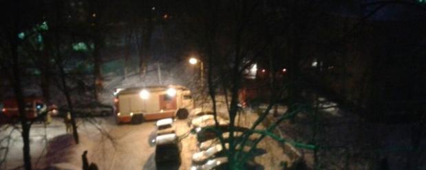 Из-за магнитофона в челнинской школе №33 вспыхнул пожар