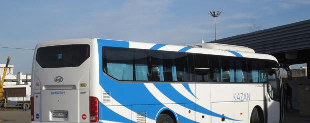 Появился новый автобусный рейс по маршруту Казань - Набережные Челны