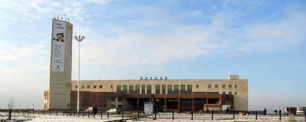 Челнинский автовокзал  переехал в железнодорожный