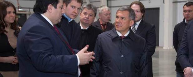 Рустама Минниханова познакомили с будущими резидентами индустриального парка «А Плюс Парк Алабуга»