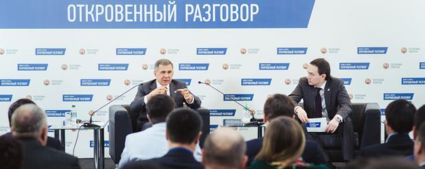 Рустам Минниханов устраивает встречу с бизнесменами Закамья