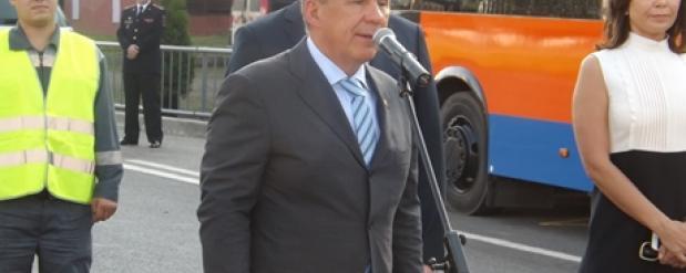 Рустам Минниханов посетил два парка в Набережных Челнах
