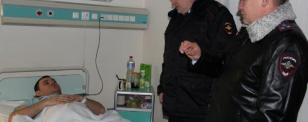 Полицейский в Челнах получил перелом позвоночника при задержании преступника