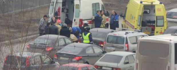 В Челнах мужчина умер в своем автомобиле, когда ехал на работу