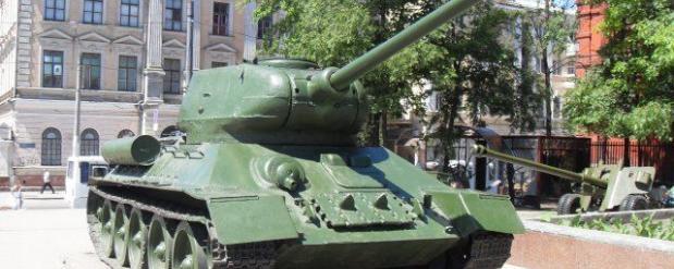 В Набережных Челнах собираются установить танк Т-34