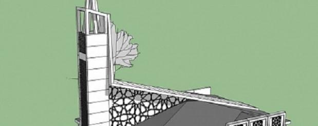В Набережных Челнах могут построить мечеть, выполненную в стиле хай-тек