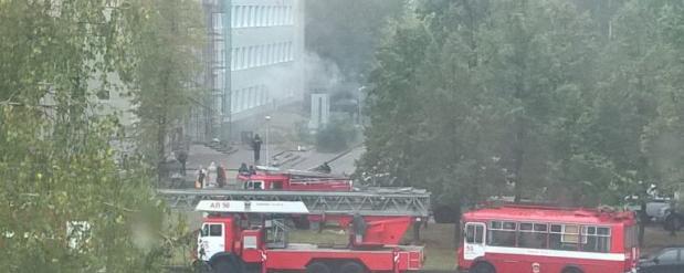 В Набережных Челнах по причине возгорания в архиве городской поликлиники было эвакуировано более двух сотен человек