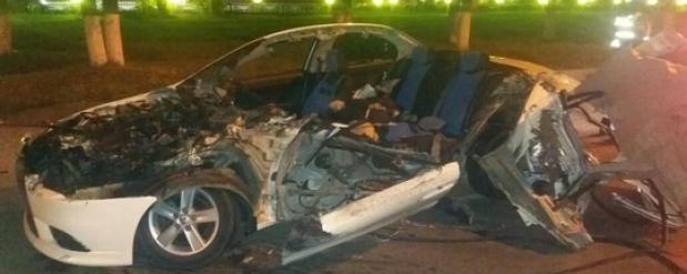 Резонансное ДТП в Челнах: нетрезвый водитель Мицубиси погиб, уходя от погони ДПС