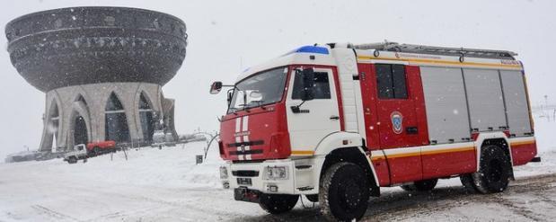 В Набережных Челнах произошел пожар в кафе на улице Раскольникова
