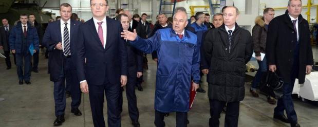 Сергей Когогин рассказал президенту о кадровых проблемах Набережных Челнов