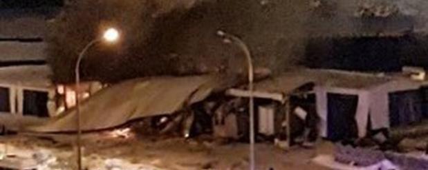На строительной базе в Набережных Челнах произошел взрыв