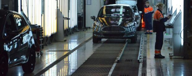 Новую версию Ford EcoSport пустили в серию