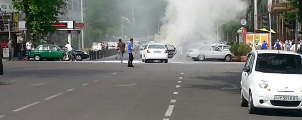 В Набережных Челнах горело отделении полиции