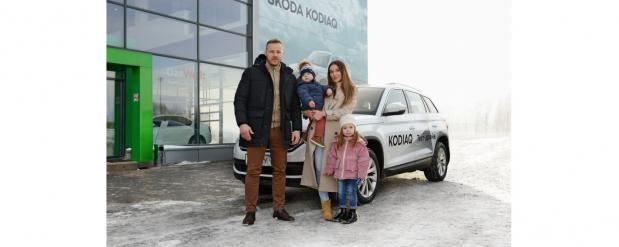 Выбор может сделать каждый: семейный тест-драйв автомобилей ŠKODA