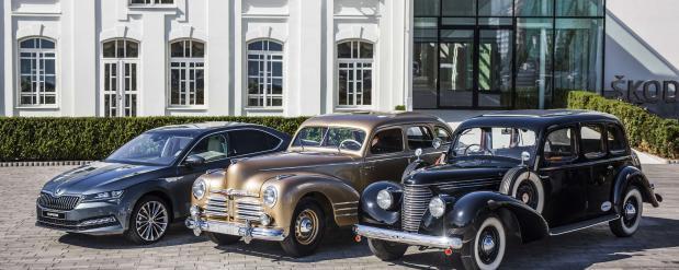 Отреставрированный Škoda Superb OHV 1948 года выпуска пополнил экспозицию музея Škoda