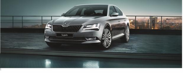 Новый ŠKODA SUPERB - мощь, комфорт и элегантность в одном автомобиле