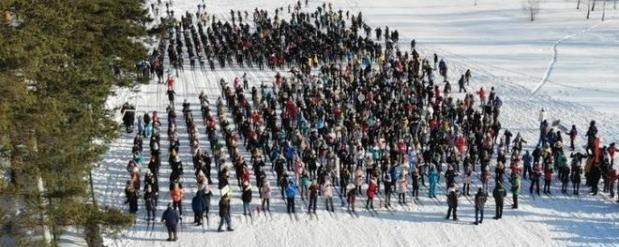 В Набережных Челнах «Лыжня Татарстана — 2020» собрала больше 22 тыс. человек