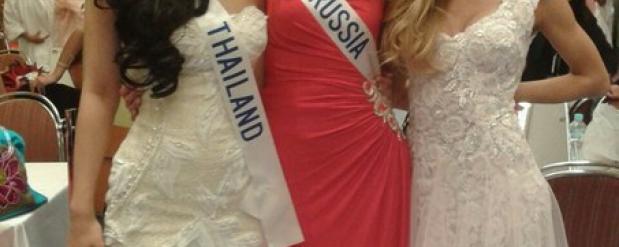 Ольга Гайдабура из Челнов вошла в ТОП-15 самых красивых девушек мира на Miss International 2013
