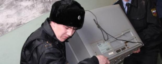 За неуплату штрафов у жителя Челнов изъяли телевизор