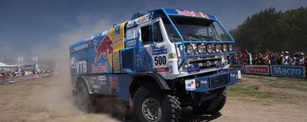 Команда «КАМАЗ-мастер» стартовала на ралли «Дакар-2014»