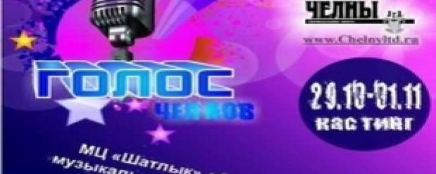 """Подобие теле-шоу """"Голос"""" сделают Набережные Челны"""